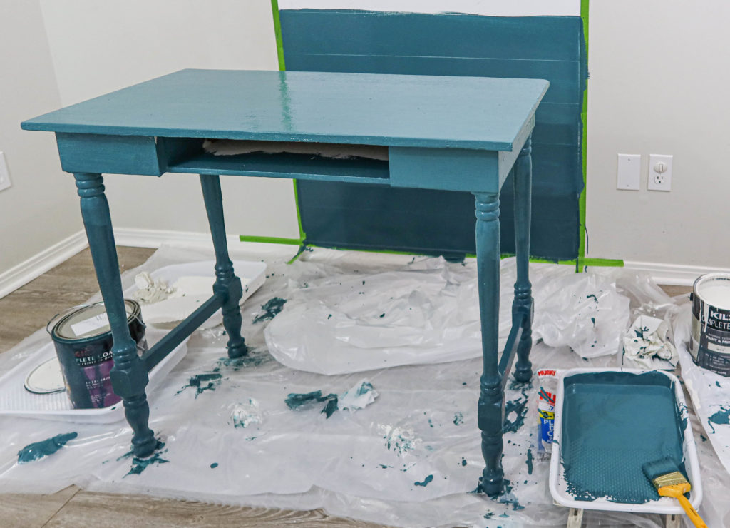 third ombre paint layer