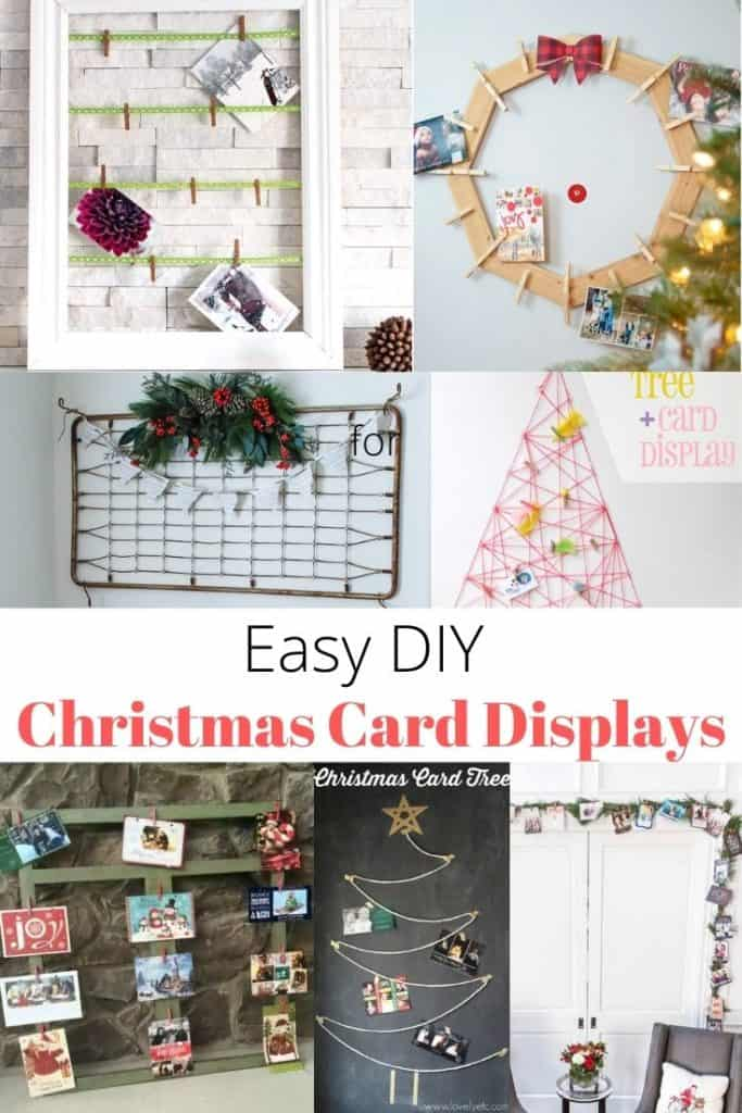 display Christmas cards