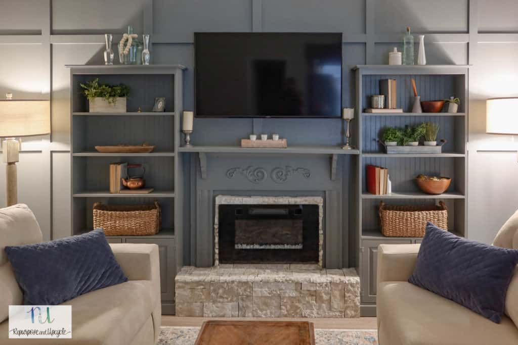 raised electric fireplace hearth