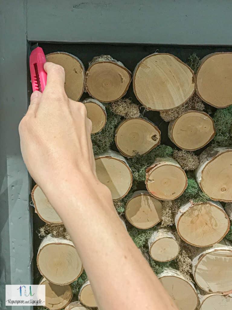 removing birchwood fireplace insert