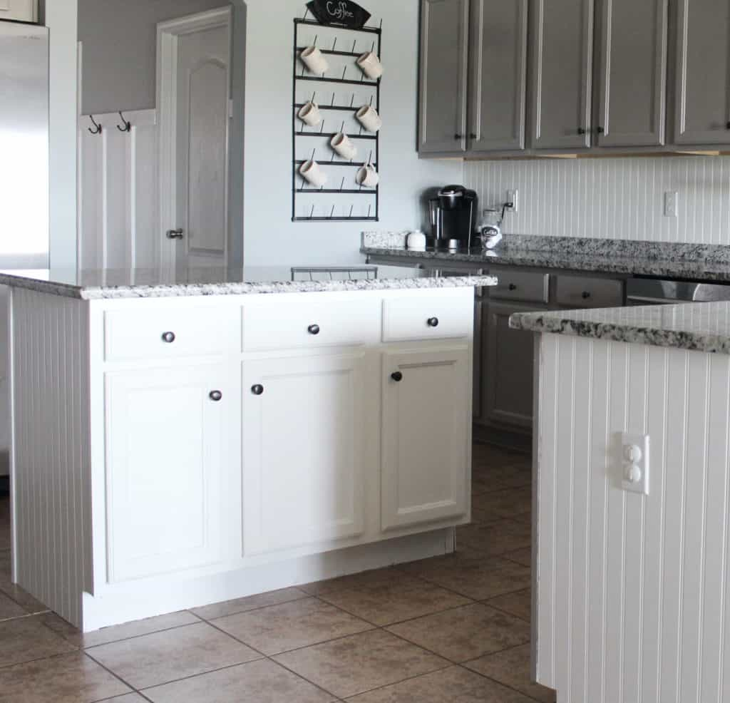 how to repaint laminate cabinets