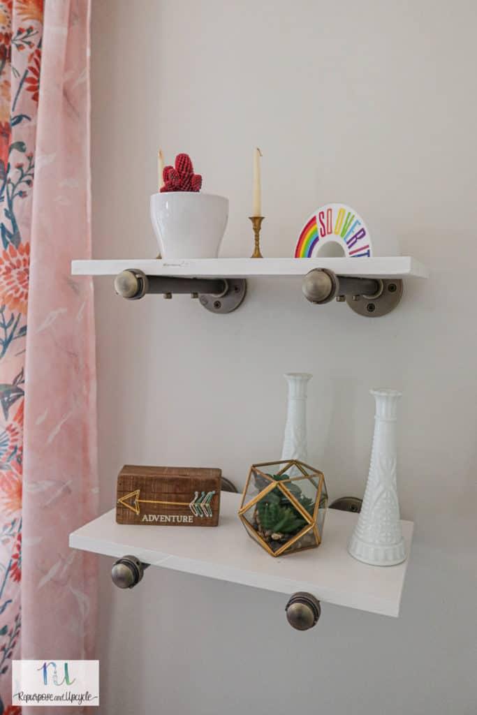 furniture pipeline floating shelves