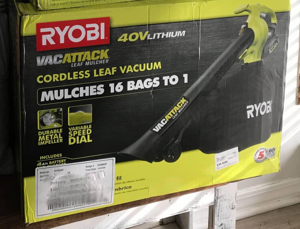Ryobi Vac Attack Leaf Vacuum