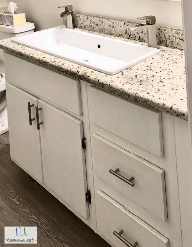 single trough style sink