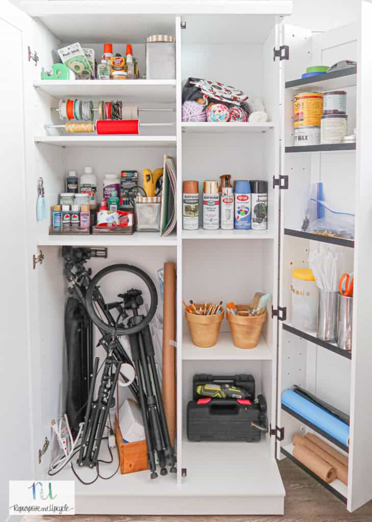 craft cabinet organization