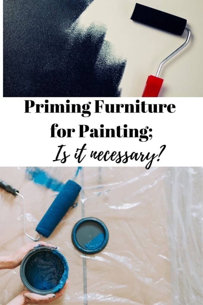 prime furniture for painting