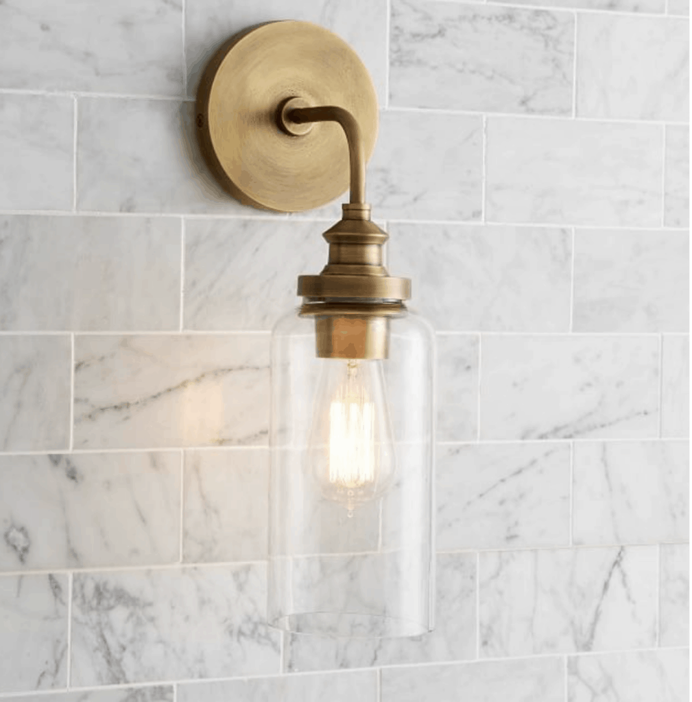 tube sconce light