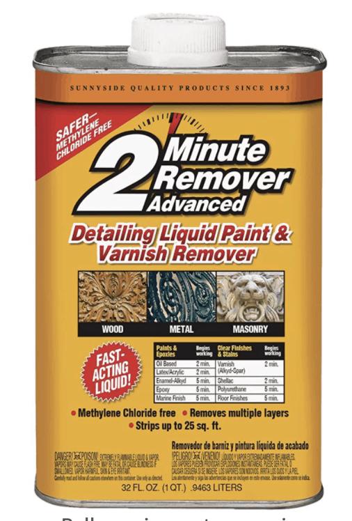 Sunnyside 2 minute remover