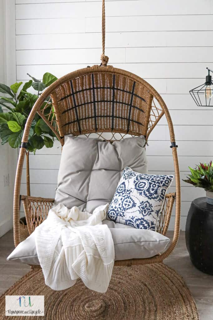 affordable hanging indoor swing chair