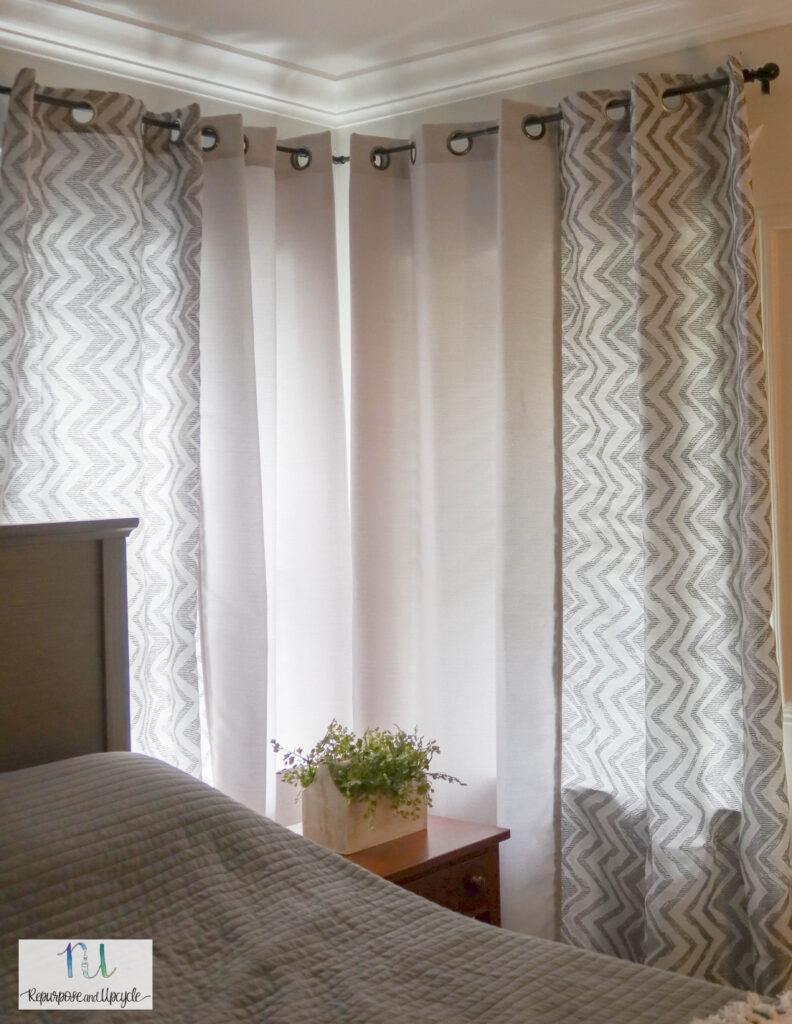 corner window curtain panels