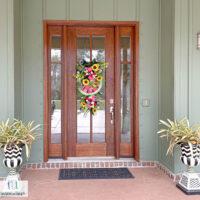 refinishing oak wood door
