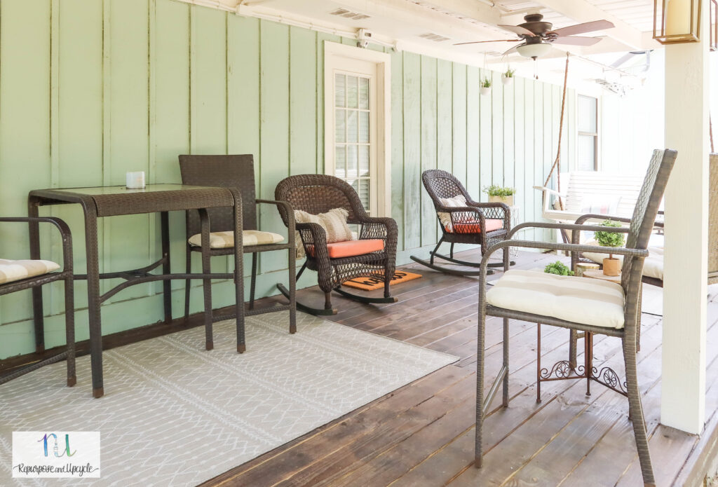 porch refresh with Joss and Main