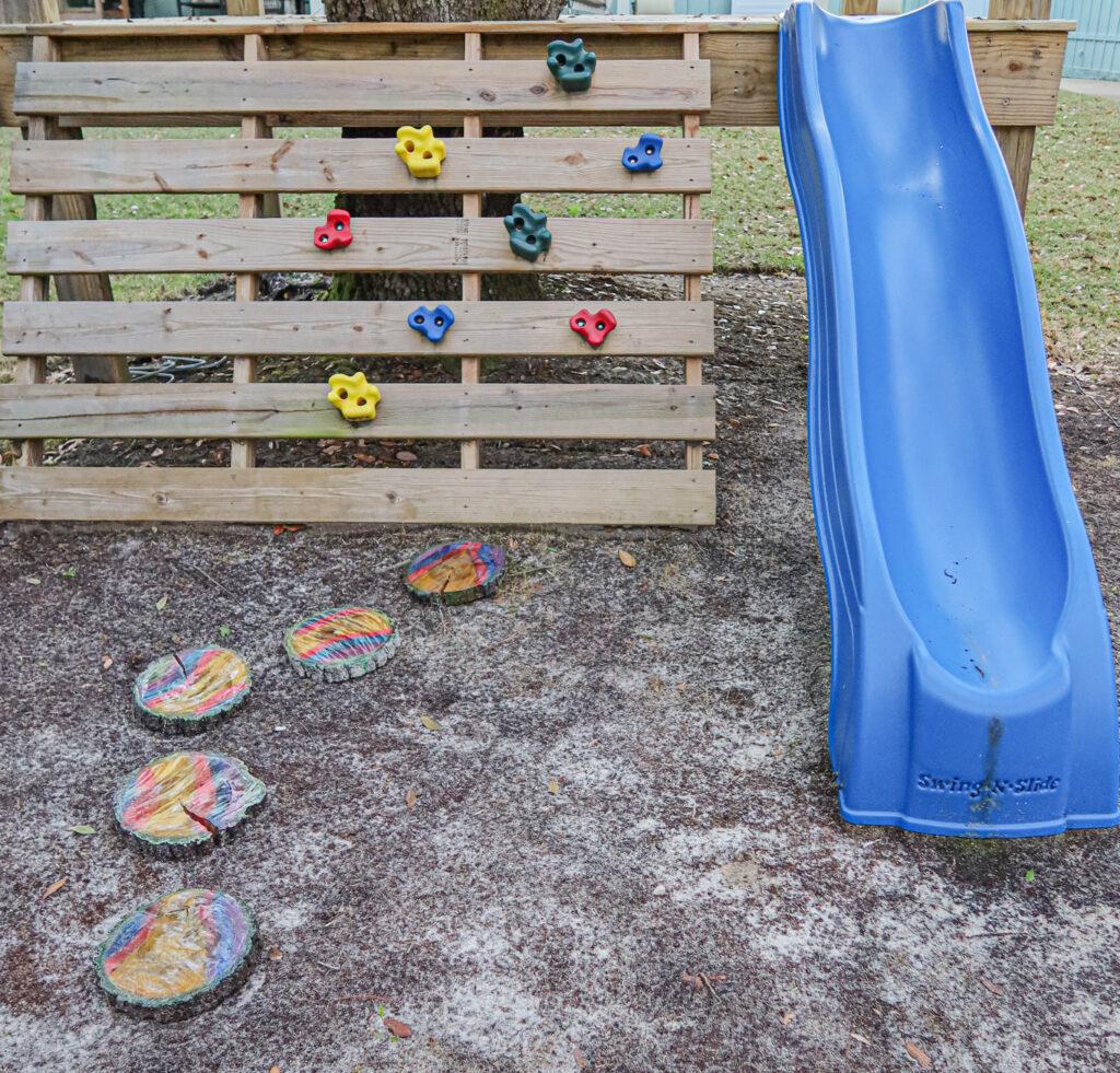 creating fun stepping stones