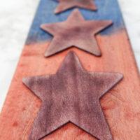 Cutting board with Keda Wood Dye