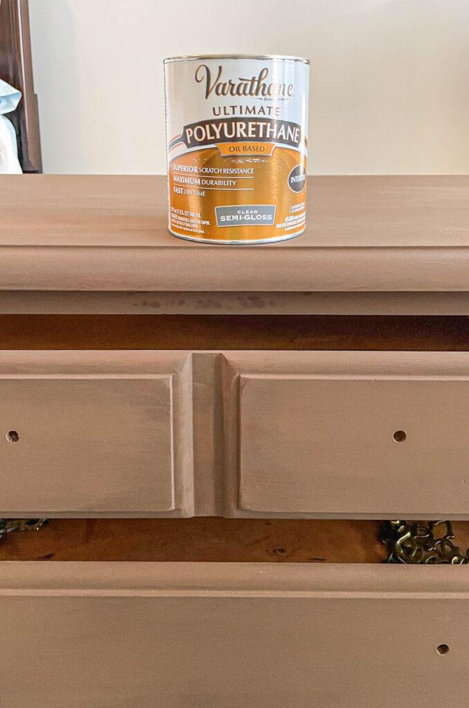 dresser with Unicorn Spit gel stain