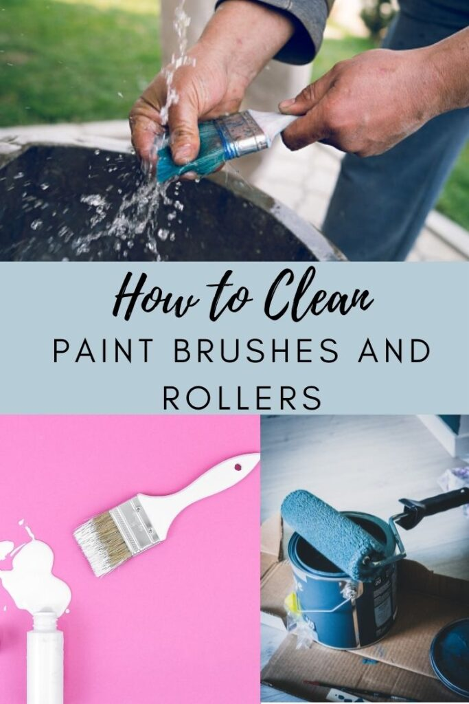 how to clean paint brushes and rollers