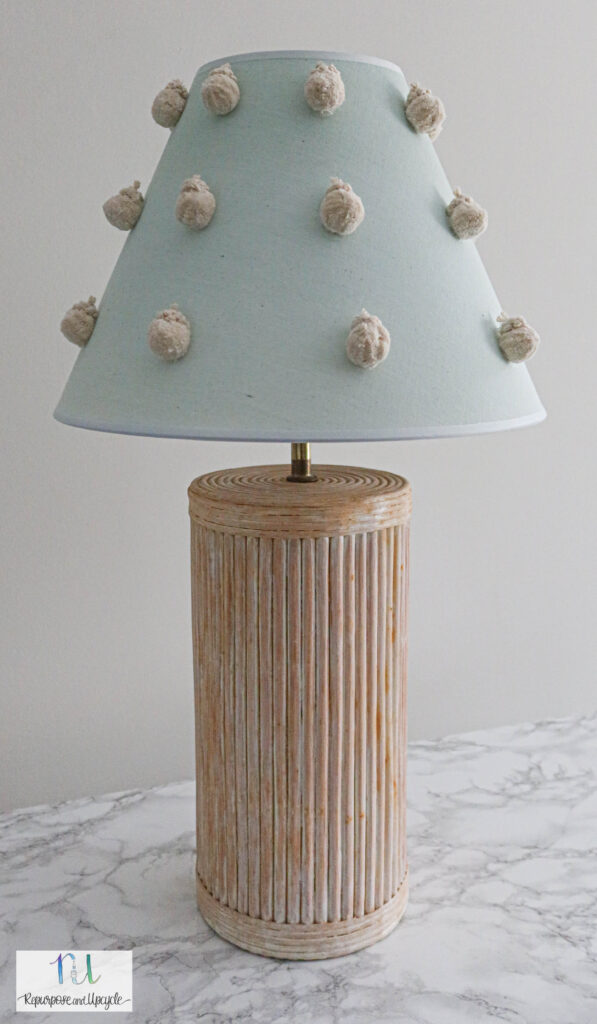 DIY ombre lampshade with Rit Dye