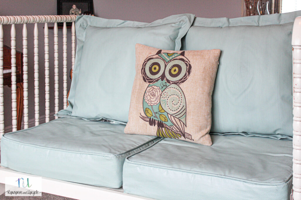 how to paint fabric with chalk paint