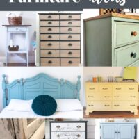 painting bedroom furniture
