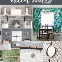 wallpaper accent wall ideas